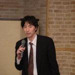 (株)第一コンサルタンツの矢田氏による「ネパール人の生活と道路」の講演