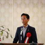 参議院議員の高野光二郞氏による「来賓祝辞」
