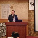 フリー工業(株)の小池氏による「新しい逆巻き工法」の講演