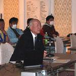 ヒロセ(株)の水谷氏による「新しい道路土工-擁壁工指針の解説」の講演