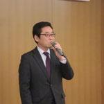高野光二郞参議院議員(山崎秘書の代読)による来賓挨拶