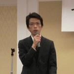 三井共同建設コンサルタント(株)の椎葉氏による講演