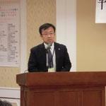 高知県商工労働部 麻岡副部長による主催者挨拶