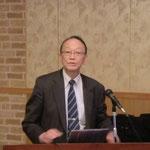 横浜国立大学の池田教授による「高耐久PC構造物の建設に関して」の講演