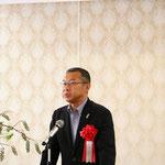 高知県土木部長の福田敬大氏による「来賓祝辞」