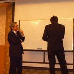 元会計調査官の望月雄二氏による講演