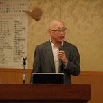 前田工繊(株)の中井氏による「巻き立て系補強工法」の講演