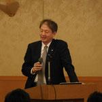 (株)藤井基礎設計事務所の藤井社長による「模型で伝える土木のおもしろさ」の講演