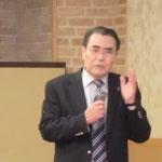 (株)日本構造技術研究所の則武社長による「PC構造の概要と技術の変遷」の講演