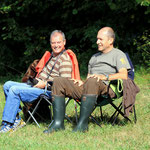 Relaxen im Campingstuhl