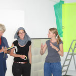 Ohne Titel ,Sprühfarbe, flüchtiges Bindemittel ,Friedericke Stanger Judith Kaiser 2012