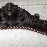 Fauteuil cabriolet dossier à la reine entièrement restauré (bois compris) avec tissu Vince de JAB