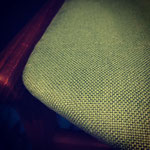 Réfection tissu série de chaises en tissu Innocent Linen de Chivasso