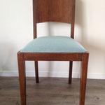 Série de 6 galettes pour chaises de salle à manger avec tissu Anguilla de JAB