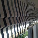 Confection de store bateau sur-mesure - Tissu Laura Ashley