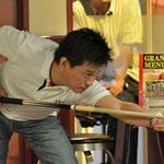 5位タイ・長瀬隆史(アマ)