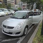 今回は仙台を拠点にレンタカーで移動