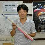 ベストアマ:早川選手