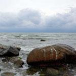 stones at the coastline