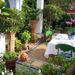 Terraza Andaluza Restaurante La Tirana - La Tirana Restaurant´s Andalusian terrace