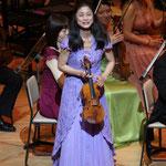 ヴァイオリン:加藤知子さん