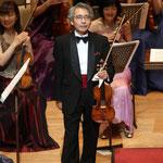 コンサートマスター:藤原浜雄さん