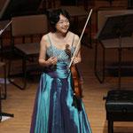 ヴァイオリン:川田知子さん