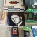 """6.  HIER KAUFTE ELVIS EIN: Zigarren Krieger – Parkstraße 10 – ELVIS-FEUERZEUGE u. ELVIS-ZIGARREN (""""VILLIGER KIEL"""")"""