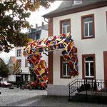 skulptur am alten rathaus bad nauheim