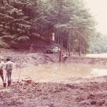 Jagd-Club Bad Nauheim e.V. - Eine wilde Müllkippe wird 1979 vom Jagd-Club in ein Feuchtbiotop verwandelt