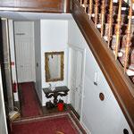 Treppe zum 2.Obergeschoss, Hotel Grunewald, Digitale Sammlung Museum Bad Nauheim, stellvertretend Beatrix van Ooyen, Foto: Jürgen Wegener, Bad Nauheim