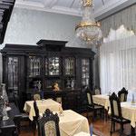 Frühstückszimmer Hotel Grunewald, Digitale Sammlung Museum Bad Nauheim, stellvertretend Beatrix van Ooyen, Foto: Jürgen Wegener, Bad Nauheim