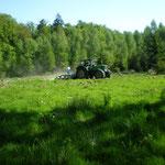 Foto Jagd-Club Bad Nauheim e.V. Nr. 483 Anlegen von Wildäsungsflächen im Wald
