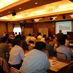 小川幹事から昨年4月に誕生した日本技術士会四国支部の紹介