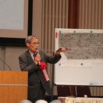 記念講演をされる上智大学前学長の石澤良昭先生