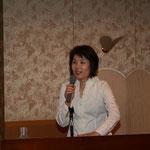 近森病院看護部長の久保田聡美先生による講演