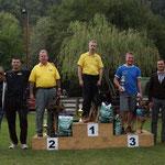 Die Besten in IPO3 / i migliori in IPO3 - 1. Florian Gaiser. 2. Bonell Karl, 3. Manfred Passler