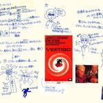 イラスト 映画 洋画 名作 ハリウッド  Illustrator 創作 絵 神谷一郎 オリジナル キャラクター 人物 名優