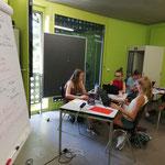 Website und Blog Design im Quartierzentrum Aussersihl, Pro Juventute Ferienplausch Zürich