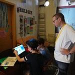 Programmieren mit Scratch im Jugenzentrum Eglisee, Basler Ferienpass