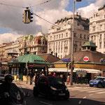 Naschmarkt, Blick Linke Wienzeile