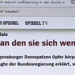 Berichte über Misshandlungen in Regensburg
