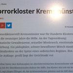 Bericht über Misshandlungen in Kremsmünster