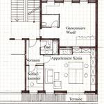 Skizze Xenias Appartement