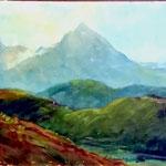 Dintorni lago di Garda, 30X40 - 1955