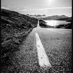 Straße in Norwegen