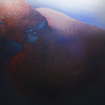 W MROKU | olej na płótnie | 110 x 95 | 2015