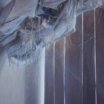 UPŁYW CZASU | olej na płótnie | 120 x 90 | 2013 r. Obraz wyróżniony w ogólnopolskim konkursie malarskim PROMOCJE 2013 w Legnicy