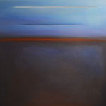 DWA ŚWIATY W SKRÓCIE | olej, płótno | 120 x 100 cm | 2014