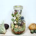 2021年6月 オンライン&長野 飯田 1dayレッスン『Botanicalドライテラリウム』作り